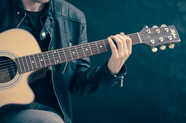 entrainement guitare accoustique
