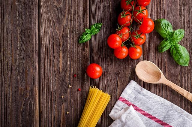 préparation de cuisine